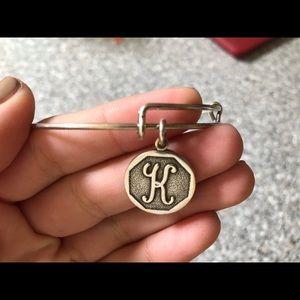 """Alex and Ani """"K"""" Bracelet"""